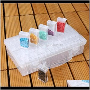 Boxes & Bins Bottles Diamond Painting Storage Box Plastic Nail Art Organizer Rhinestone Crystal Beads Container Case Jewelry Box1 Issj F8U6I