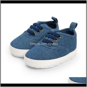 First Walkers Baby, Kids & Maternity Drop Delivery 2021 Romirus Denim Blue Fashion Boy Baby Spring Autumn Elastic Band Toddler Shoes Casual K