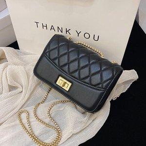 Omuz Çantaları Kadınlar Için 2021 Moda Crossbody Çanta Tasarım Basitlik Kadın Lüks Zincir Çanta Bayan Messenger
