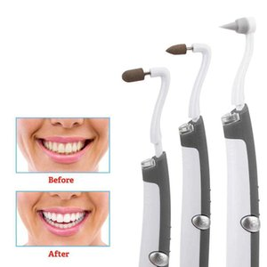 3 in 1 Electric Ultrasonic Sonic Dental Scaler Tooth Calculus Tartar Removal Teeth Stain Cleaner Whiten Teeth Oral Hygiene Tool Q0531