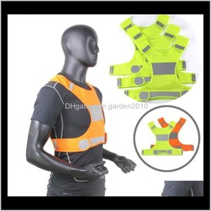 Visibility Reflective Outdoor Safety Vests Cycling Vest Working Night Running Sports Clothes Party Favor Bab69 Rxzhf 75Jc6