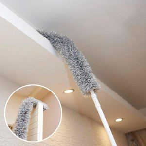 Dusters 1PC Retractable Bending Dust Tweezer Household Car Dusty Feather Duster Without Lint Flexible Electrostatic Dusting Brush