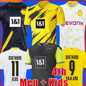 dortmund Borussia HAALAND REUS 20 21 camiseta de fútbol 2020 2021 chandal de fútbol BELLINGHAM SANCHO HUMMELS BRANDT hombres + kit para niños camisa de la soccer jersey cuarto