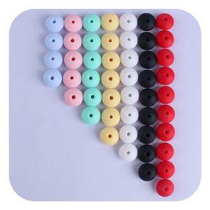 LOFCA 50 шт. 12 мм Силиконовые шарики чечевицы Baby Teathet Beads BPA Бесплатный пищевой сорт для ухода за уходом за полостью рта для ухода за полостью рта