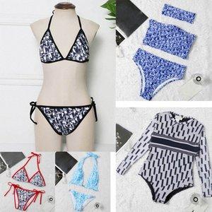 Misture 18 estilos Mulheres Swimsuits Bikini Set 2 peças Multicolors Horário de Verão Praia Terno de Banho Vento Swimwear Sexy Ternos