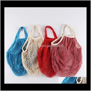 Storage Cotton Vegetable&Fruit Mesh Bag Convenient To Carry And Shoulder Meshbag Environmentally Friendly Large-Capacity Shopping Bags Njeou