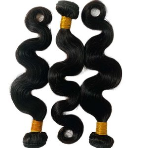 Premium Quality Wholesale Body Wave Natural Raw Indian Hair Cuticle Aligned No Tangle For Black Women
