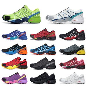 Salomon Speed Cross 4 CS 남성 여성 운동화  스포츠 스니커즈 트레이너   신발