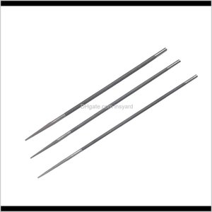 Files 3Pcs Chain Saw Sharpening File Kit Set For Garden Lawn Mower Repair Tool 9Prpf 4Lvxe