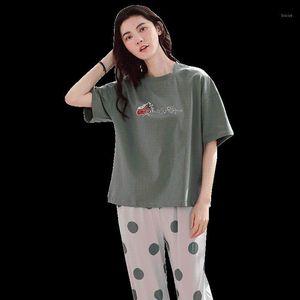 M-4XL Sleepwear Women's Pajama Sets 100% Modal Cotton Pijama With Pockets Pyjama Femme Quality Ladies Home Suit Clothes For Home1