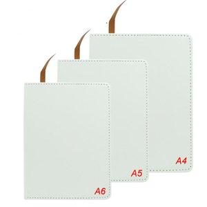 صراف كامل التسامي المفكرة A4 A5 A6 فارغة أبيض نقل الحرارة الطباعة دفتر الملاحظات ل diy طالب ملاحظة كتاب مع صفحات اللوازم المدرسية