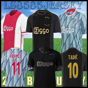 20 21 22 Amsterdam Konsept Edition Siyah Futbol Forması 2021 2022 Promes Álvarez Tadic Neres Erkekler Çocuklar Kiti Futbol Gömlek Kudus Antony Kör Üçüncü 50th Üniformalar