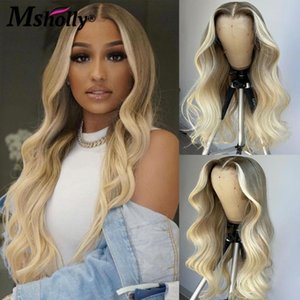 Lace Wigs Ombre Grey 613 Frontal Wig Brazilian Transparent Body Wave Front 4x4 Closure Wg Colored Human Hair For Women