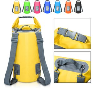 5L 10L 15L 20L Outdoor Waterproof Bags Storage Dry Sack Bag for Canoe Kayak Rafting Outdoor Sport Swimming Bags Travel Kit Backpack