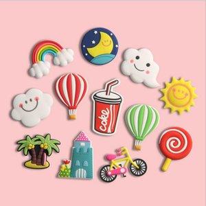 Fridge Carton Magnets PVC Colorful Magnet Sticker Plastic Refrigeator 3D Cute Stickers Home Furnishing Decorate