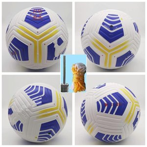 Club 2021 Serie A League Size 5 soccer Ball high-grade nice match 20 21 football balls (Ship the without air)