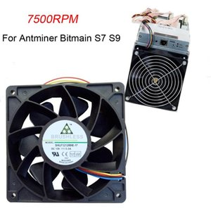 120x120x38mm Replacement Connector 4-pin Cooling Fan System CPU With PWM Fans For Antminer Bitmain S7 S9 & Coolings