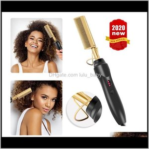 Multifunctional Copper Color Wet And Dry Curling Stick Electric Straight Perm Soft Long Adfkq Straighteners Frlpl