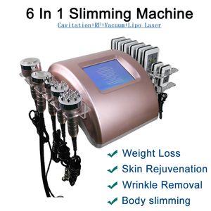 Portable Ultrasonic Cavitation Body Slimming Machine Lipo Laser Weight Loss Radio Frequency Skin Tightening Beauty Equipment