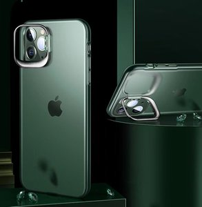 Phone cases for iphone11 Pro MAX 12 Invisible kickstand reinforced drop protection Minimalist Design protective case clear cover black green white