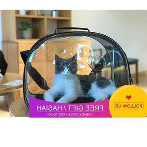 Transparent Pet Dog Carrier Bag Breathable For Small Pets Carrying Travel Foldable Puppy Handbag Cat Car Seat Covers