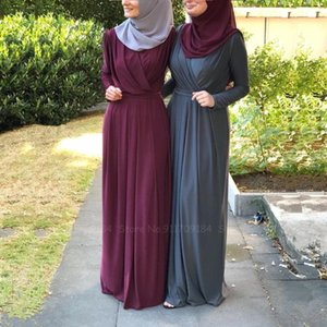 Women Muslim Arab Dubai Abaya Turkish Kuftan Fashion Casual Evening Party Dress Kaftan Prayer Islamic Clothing Hijab Robes Gown Ethnic