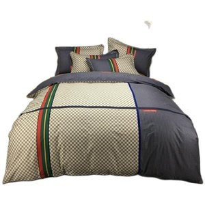 Bedding Sets 100 Cotton Luxury Suit Duvet Cover Flat Sheet Pillowcase Set
