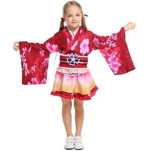 Japanese bathrobe Cosplay daily summer festival awakening short and parent-child Halloween clothes