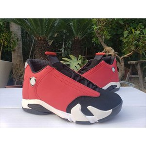 New Release 14 GS Gym Red White Black Men Outdoor Shoes Sports Sneakers 14s boys Trainers 487471-006