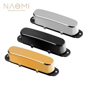 NAOMI Guitar Sealed Neck Pickup Single Coil Electric Guitar Pickup 50mm Pole Spacing w  Golden Cover For TL Guitar