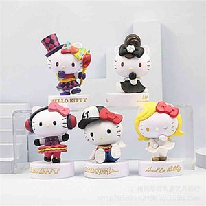 5 magic ktcat Kitty machine blind box handmade doll accessories