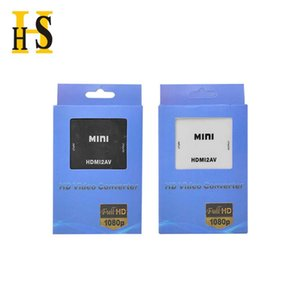 AV RCA CVBS to HDMI compatible converter 1080P video MINI AV2HDMI adapter for HDTV projector set-top box Professional Manufacture