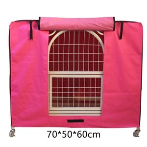 Dog Houses & Kennels Accessories Breathable Pet Supplies Waterproof Outdoor Roller Kennel Cage Cover Windsheild Crate Anti Dust Foldable Was