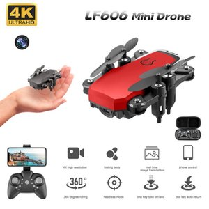 2.4G LF606 Mini Drone HD 4K Camera WiFi FPV Foldable RC For Kids Altitude Holding Headless Mode Quadcopter Kid's Toys Drones