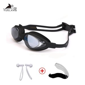 Adjustable Swimming Goggles Glasses Swimming Glasses Pool Professional Uv Silicone Waterproof Arena Eyewear Adult Sport Diving qylMFr