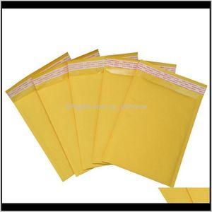 Gift Wrap 50 Pc 22 X 25Cm Kraft Paper Filled Envelope With Bubble Mail Bag Xhrwx Adlz3