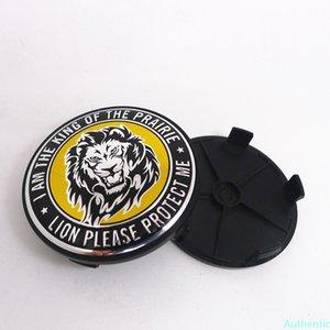 4pcs 68mm 64mm Wheel Hub Center Cap Styling Cover 65mm Tiger Lion Eagle Dragon Head Emblem Badge Rim Stickers Accessories