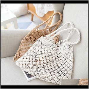 Women St Bag Beach Woven Shoulder Handbag Purse Summer Storage Bags Tote F8Zrr Gauje