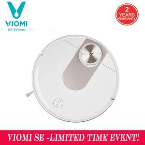 Viomi SE-Robot Smart aspirador de pó, planejamento tipo Y, esfregão elétrico, aplicativo mijia, economizar 5 mapas, 7 horários, coletor de poeira do cabelo do tapete