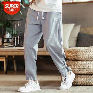 Dropshipping Streetwear Men'S Harem Trousers Autumn Man Cargo Pants Hip Hop Cotton Casual Baggy Men Plus Size #j67T