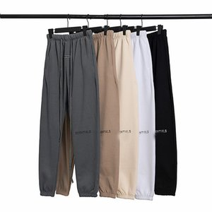 2021 Essentials With Reflective Pants Men Women Designer Long Pant Spring Autumn Sports Running Jogger Oversize Tracksuit