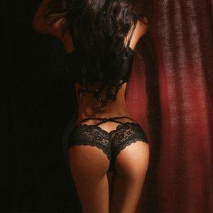Men's and women's clothingHollow Lace Women Out Underwear Ladies Transparent Briefs Female Lingerie Sexy Mesh Panties Womens BreathabXHD3CE