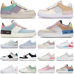 shadow running shoes women platform sneakers dunk 1 Tropical Twist triple white black Spruce Aura Sunset Pulse mens womens sports outdoor trainers