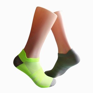 Spring and summer ear men's sports socks mesh breathable handmade boneless socks