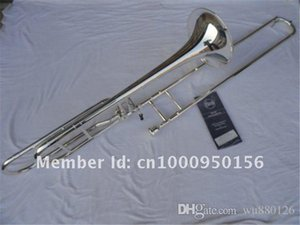 New Arrival Professional Bach 42BO Bb Tenor Trombone Silver Plated B Flat High Quality Musical Instruments With Case Accessories
