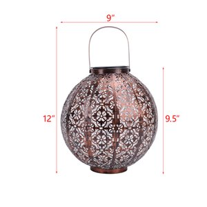 Warm With Solar Lantern Outdoor Garden Hanging Lanterny Solars Lights Outdoory Waterproof LED Table Lamp Decorative Hangings Solary Lanterns Butterfly Handle