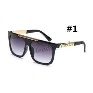 2019 العلامة التجارية تصميم البني المقاوم للصدأ النظارات الشمسية الرجعية الرجال الطيار السفر الفاخرة UV400 نظارات الشمس السيدات القيادة 9264