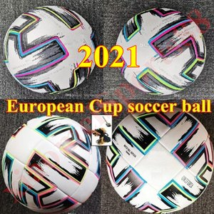 Top quality European Cup Official Match Soccer ball 2021 Final KYIV PU size 5 4 balls granules slip-resistant football high