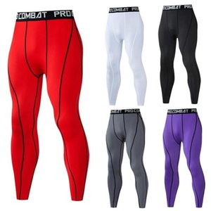 Running Pants Men Compression Tight Leggings Sports Male Fitness Jogging Quick Dry Trousers Workout Training Yoga Bottoms