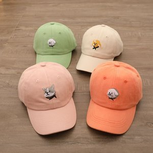 Children's Hat and Autumn Thin Baseball Boy Handsome Trend Personality Baby Sun Visor Cap Spring